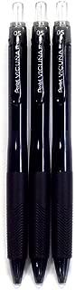 Pentel Ballpoint Pen Vicuna X, 0.5mm, Black Ink(BX105A-A), 3 pens per Pack (Japan Import) [Komainu-Dou Original Package]