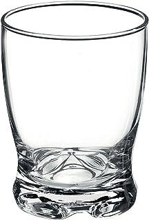 Bormioli 1662070 Set of 3 Glass Tumblers, Transparent, 9.5 x 2.5 x 9.5 cm