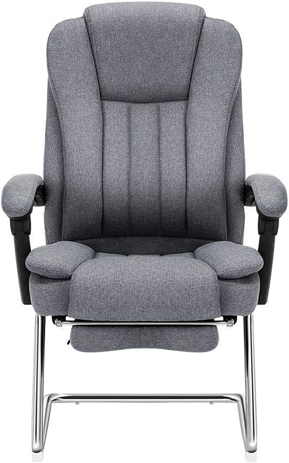 RMXAK High Back Executive Office Chair with Adjustable Tilt AngleExecutive Black Office Chair, Swivel and tilt, with Extra Thick Padding, Height Adjustment.
