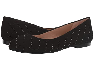 French Sole Expo (Black Suede) Women
