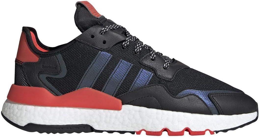 adidas Originals Nite Jogger - Zapatillas deportivas para hombre, color negro