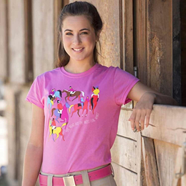 FITS Ladies' Most Fun Wins T-Shirt