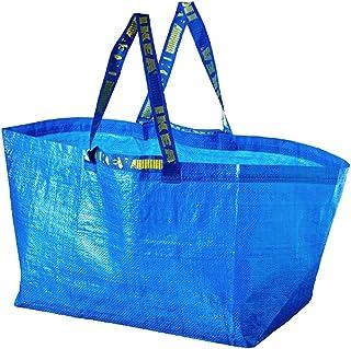 Ikea Frakta Bleu Capacité - 2 Grand sac-idéal pour les Courses, Sac à linge &de rangement