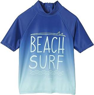 Vertbaudet T-Shirt de Bain Anti UV garçon Motif Surf