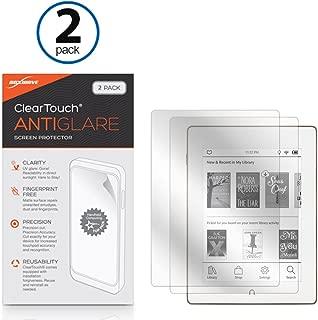 Barnes & Noble Nook GlowLight Plus Screen Protector, BoxWave [ClearTouch Anti-Glare (2-Pack)] Anti-Fingerprint Matte Film Skin for Barnes & Noble Nook GlowLight Plus
