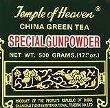China Green Tea Special Gunpowder (Temple of Heaven G603) 500g. (17.64 Oz)