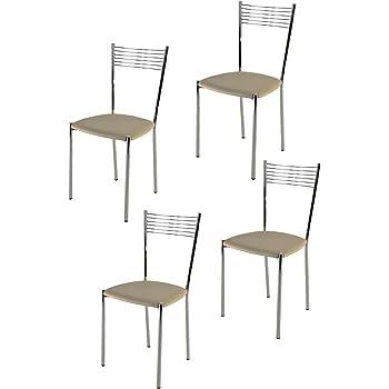 t m c s Tommychairs Set 4 sedie Moderne Elegance per