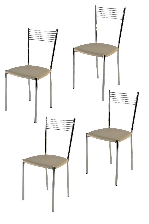 t m c s Tommychairs Set 4 sedie Moderne e Design Elena per