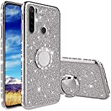 Compatibile con Cover Xiaomi Redmi Note 8T, Glitter Lusso Strass Diamante Bling Diamanti C...