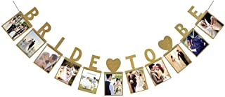 Bride To Be Photo Banner For Wedding Sign Bridal Shower Banner Hen Night Bunting