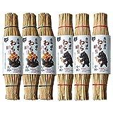 【くま納豆】北海道のわら納豆大粒3本・小粒3本セット