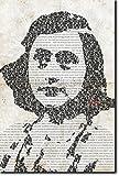 Anne Frank Kunstdruck - einmaliges typografisches Design -