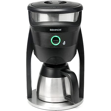 Behmor Connected Customizable Temperature Control Coffee Maker, Compatible with Alexa