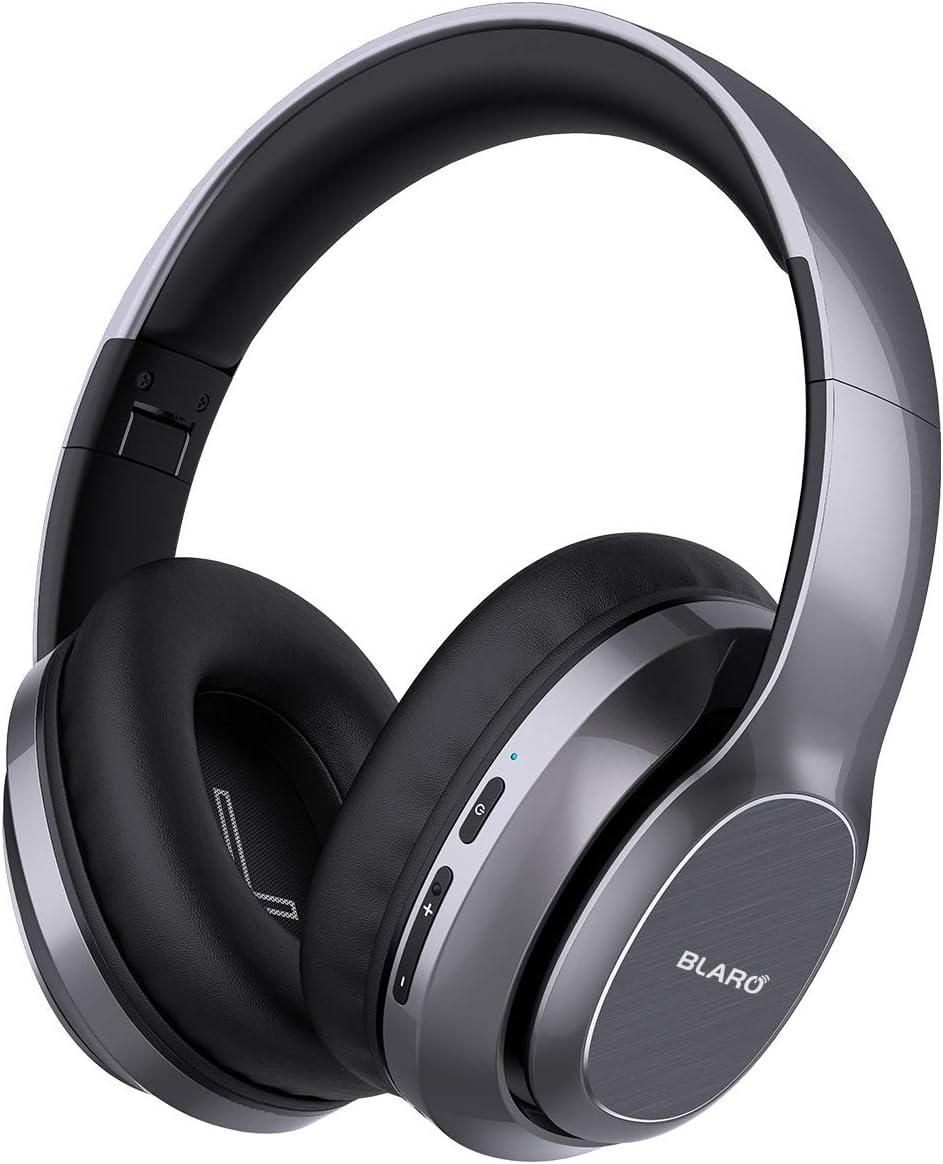 BLARO Bluetooth Headphones Over Ear, Hi-Fi Deep Bass Wireless and Wired Headsets,...