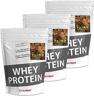 ALPRON(アルプロン) ホエイプロテイン100 チョコレート味 (1kg×3個セット / 約150食分) タンパク質 ダイエット 粉末ドリンク [ 低脂肪/低カロリー ]