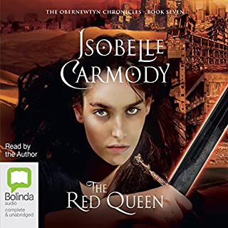 The Red Queen     The Obernewtyn Chronicles, Book 7              By:                                                                                                                                 Isobelle Carmody                               Narrated by:                                                                                                                                 Isobelle Carmody                      Length: 40 hrs and 32 mins     81 ratings     Overall 4.5