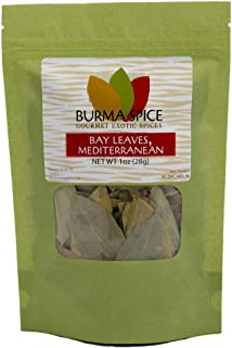 Mediterranean Bay Leaves | Aromatic Herb | Ideal for Aromatizing Rice, Pasta, Meat and Fish 1 oz.