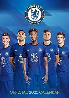 Chelsea FC 2021 Calendar - Official A3 Wall Format Calendar