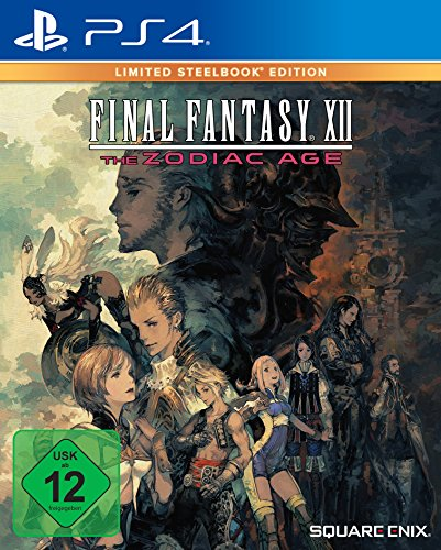 Final Fantasy XII The Zodiac Age - Limited Steelbook Edition- PlayStation 4 [Edizione: Germania]