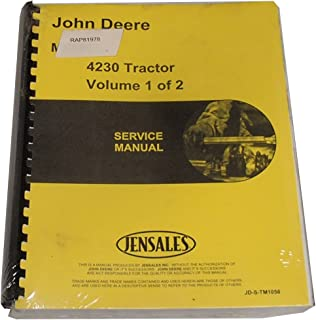 New Service Manual For John Deere 4230 Tractor