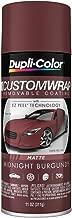 Dupli-Color ECWRC8117 Custom Wrap Matte Midnight Burgundy