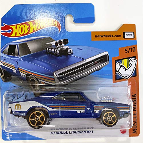 Hot Wheels \'70 Dodge Charger R/T Muscle Mania 5/10 2020 (249/250) Short Card