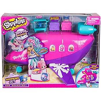 Shopkins Plane Playset, Plus 3 Exclusive (Ama | Shopkin.Toys - Image 1