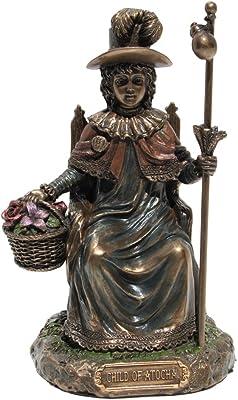 Holy Child of Atocha Statue Figurine Cold Cast Bronze