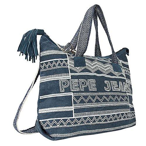 Pepe Jeans - BOLSO BONDS BAG (U, INDIGO)