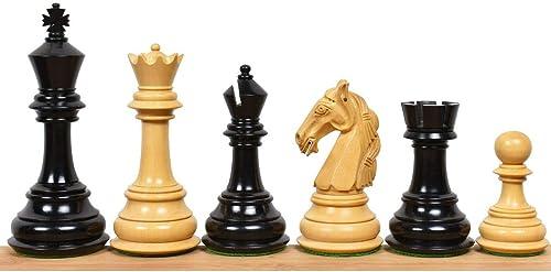 venta al por mayor barato RoyalChessMall - - - Juego de 4 Piezas de ajedrez Tres Pesos Colombianos raros y de Poco Peso - Ebony Wood  en venta en línea