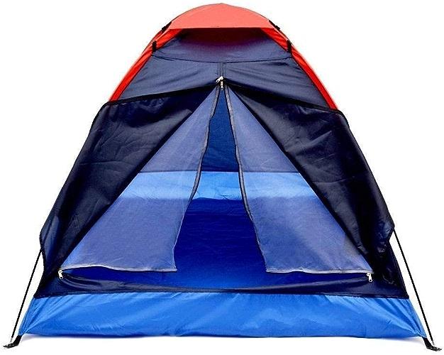 BEANCHEN 2 Personnes Tente de Camping Pliante en Plein air pÃle en Fibre de Verre Sac de Transport randonnée Voyager Camping