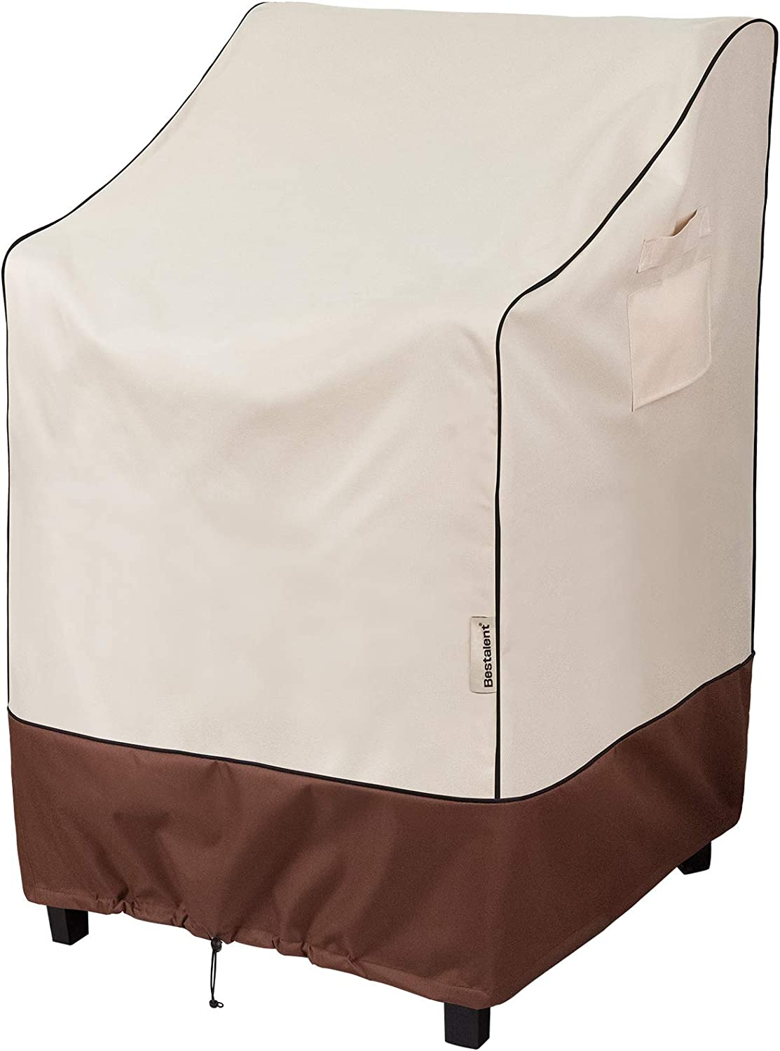 Bestalent Patio Chair Cover Stackable for Outdoor Lawn Furniture Dining Chairs Fits up to 36 W x 28 D x 47 H inches : Everything Else