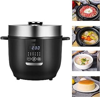 GAYBJ Olla arrocera (2 l / 350W / 220V) Multi-Cooker Función para Mantener Caliente De Primera Calidad Olla Interior para cocinar arroz, Avena, Huevos nutritivo