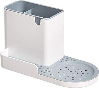 Amazon Basics Organiseur/porte-éponge pour évier de cuisine, grande taille