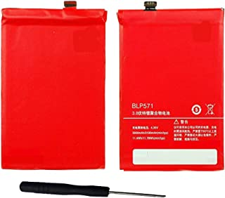 Powerforlaptop Replacement Cell-phone battery for BLP571 ONEPLUS ONE 1+ A0001 3.8V/3100mAh with installation tools