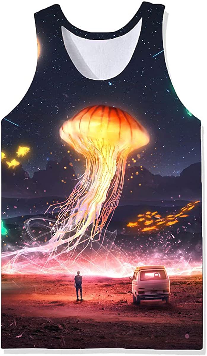 Damela Boy In stock 3D Magical Journey Our shop OFFers the best service Pullover Vest Printed
