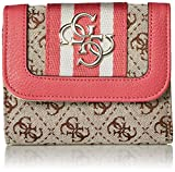 GUESS Vintage Small Trifold Wallet, pink