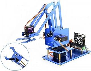 4-DOF Metal Robot Arm Bluetooth Remote Control Starter Kit Adopts Servo Driver for Micro:bit @XYGStudy