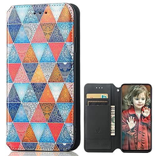 MingMing Lederhülle für Meizu 18 PRO 5G Hülle, Flip Hülle Schutzhülle Handy mit Kartenfach Stand & Magnet Funktion als Brieftasche, Tasche Cover Etui Handyhülle für Meizu 18 PRO 5G, CH03