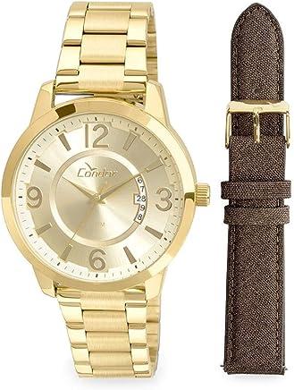 37e43122bb4 Relógio Condor Masculino Ref  Co2115xw k4d Dourado Troca Pulseira