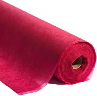 Red Gossamer Decorating Material, 59 Inches x 100 Yards