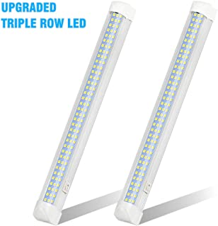 UPGRADED LED Interior Light Bar, MIHAZ 108LED 12V Universal Light Strip with ON/OFF Switch for RV Van Truck Lorry Camper B...
