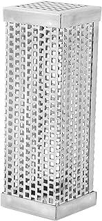 Borlai 304 rostfritt stål BBQ grill rökare tub verktyg för utomhus grill tillbehör 15 cm