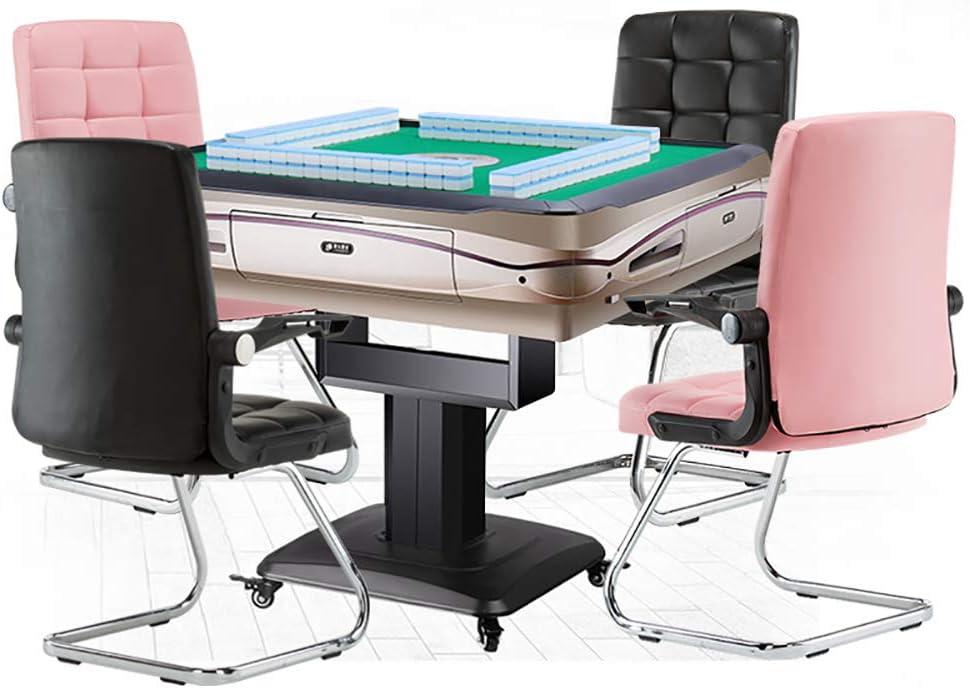 WCURT, Bureau Bureau réunion Ordinateur étude Chambre comptoir Jeu Mahjong Chaise Tabouret, Chaise Ergonomique, Noir Blanc-White White
