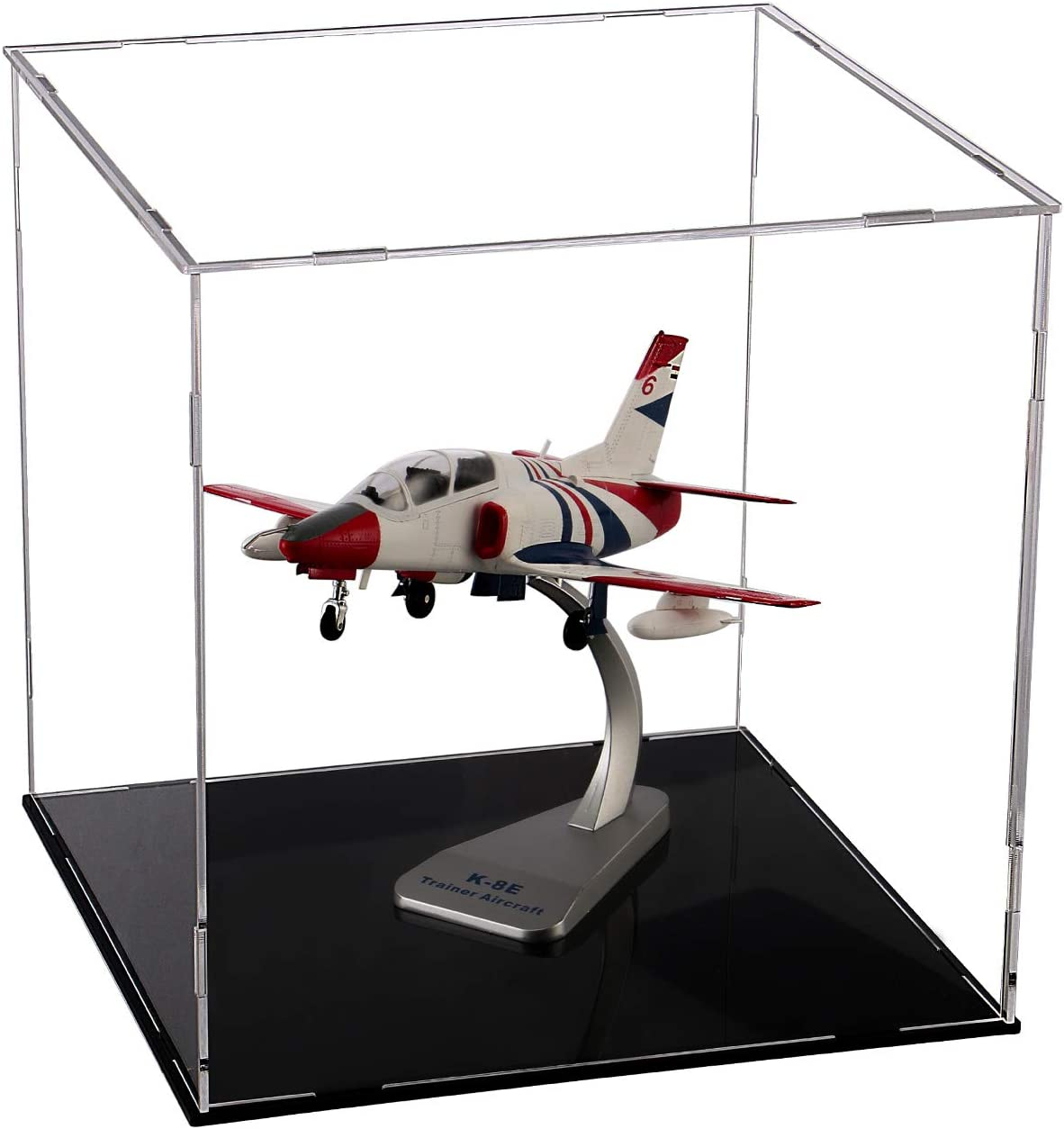 Evron Display Case for Collectibles Assemble Cheap sale Max 68% OFF Clear Box A Acrylic