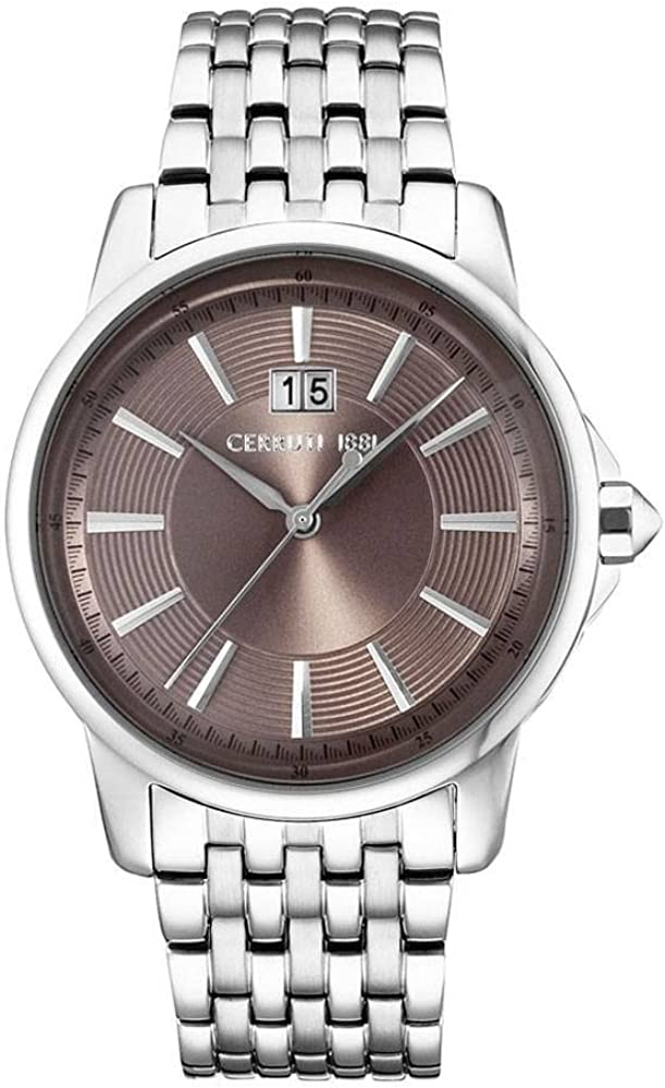 Cerruti 1881, orologio per uomo, in acciaio inossidabile CRA072SN02BK