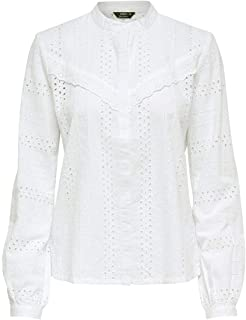 ONLY Dames Onlmiriam Ls Emb Anglaise Blouse Noos Blouse