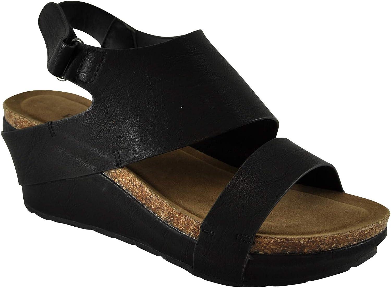 Pierre Dumas Chantal-6 Women's Platform Wedge Sandal