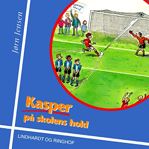 Kasper på skolens hold audiobook cover art