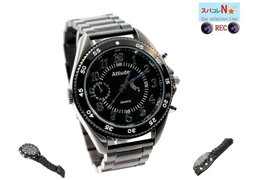 したい彼儀式Newstar 小型カメラ スパイカメラ 腕時計型 高画質 赤外線 動体検知 ビデオ アクション カメラ 16GB